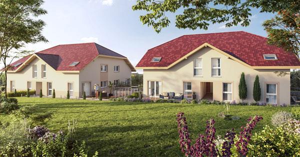 Programme immobilier neuf à Saint Martin Bellevue