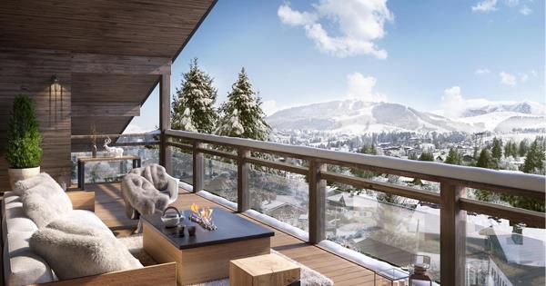 Programme immobilier neuf à Megève