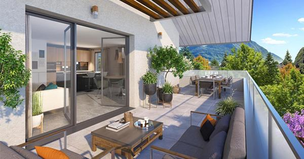 Programme immobilier neuf à Annecy-le-Vieux