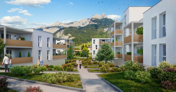 Programme immobilier neuf à Sallanches
