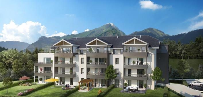 Programme immobilier neuf à Divonne les Bains