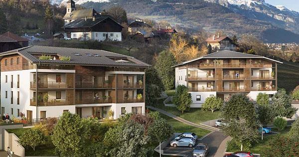 Programme immobilier neuf à Domancy